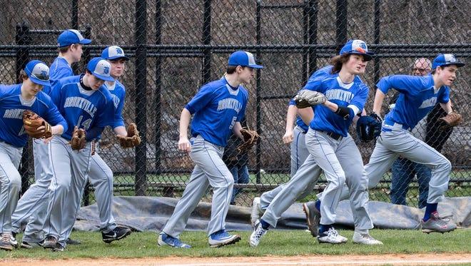 The 2017 Bronxville baseball team.