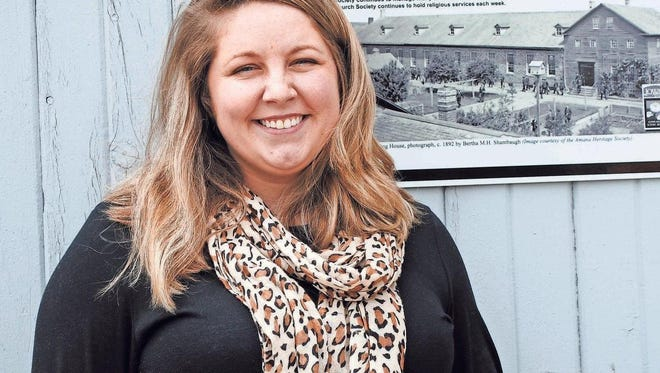 Savanna Collier is the new festival director for Amana Colonies Festivals Inc. A native of Fort Madison, she came on board earlier this spring.