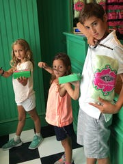 Summer fun Havi Troffkin rewarded her children Orly, Yaffa and Soren after reading the Harry Potter collection with a fun trip to The Wizarding World of Harry Potter – Universal Orlando. They enjoyed sweet treats from Honeydukes and used their wands to cast spells throughout the village.