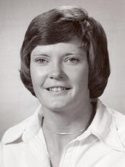 Pat Summitt's University of Tennessee media guide photo