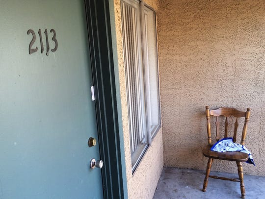 The Mesa apartment where police say a man abused a