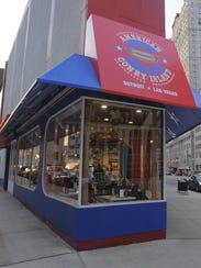 American Coney Island stands within walking distance