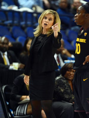 ASU women's basketball coach Charli Turner Thorne can earn her 400th career victory Monday at Hartford.