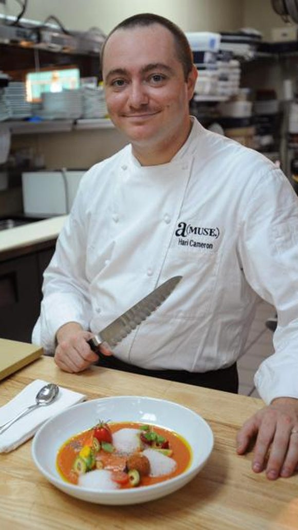 Restaurant chef/owner Hari Cameron will be cooking at the Williams-Sonoma store at the Christiana Mall on March 26.
