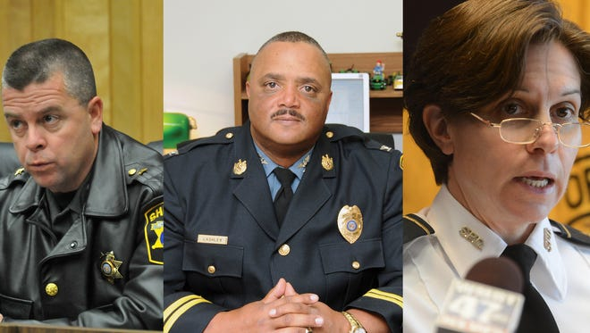 Salisbury Police Chief Barbara Duncan, Chief Edwin Lashley at SU and Wicomico County Sheriff Mike Lewis will speak at a community police forum at Salisbury University on Oct. 19.