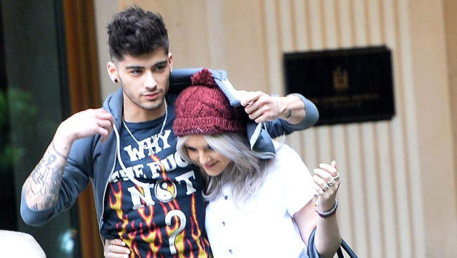 Zayn Malik, of One Direction, and Perrie Edwards, of Little Mix