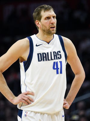 """Mavericks forward Dirk Nowitzki called the allegations of misogyny and predatory behavior in his team's front office """"disgusting."""""""