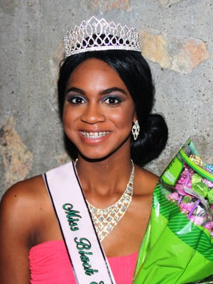 Miss Black El Paso 2016 Brianne Williams is a junior at Montwood High School.