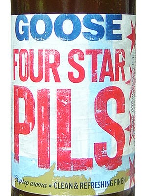 Four Star Pils, from Goose Island Beer Co. in Chicago, is 5.1% ABV.