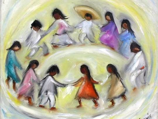 Los Ninos became one of DeGrazia's best selling works.