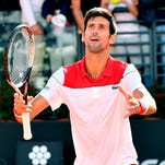 Novak Djokovic keeps things in perspective after win in Rome