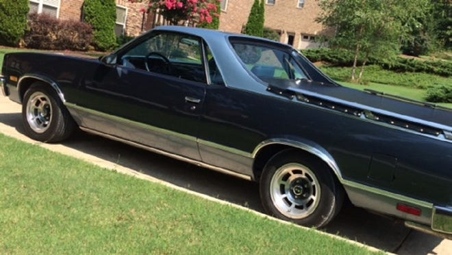 The Harrison household recently added a 1987 El Camino.
