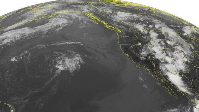 NOAA satellite image taken in 2013.