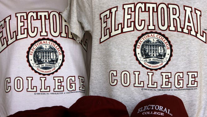 The Electoral College is meeting to vote on Dec. 19, 2016.