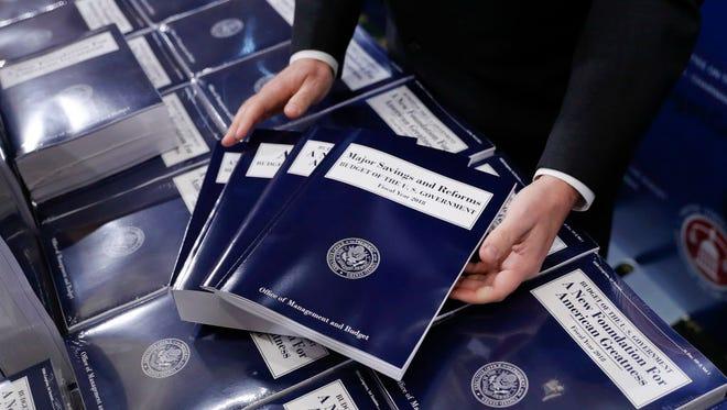 President Trump's 2018 federal budget.