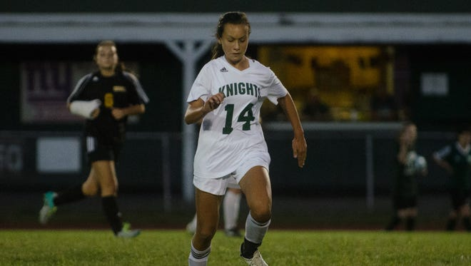 Ally Whittaker is among the key returnees for the New Milford girls soccer team.
