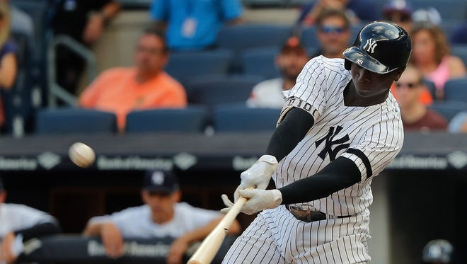 Didi Gregorius wasn't expected to be the Yankees' cleanup hitter this season, but the shortstop has worked his way up the lineup and has thrived batting fourth. Gregorius entered Tuesday with a career-high 24 home runs.