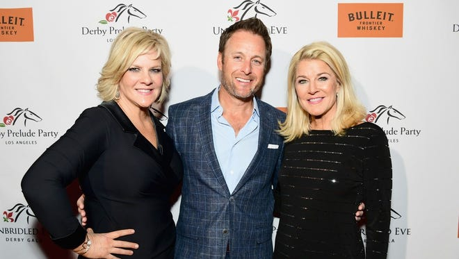 Tammy York Day, Chris Harrison and Tonya York Dees