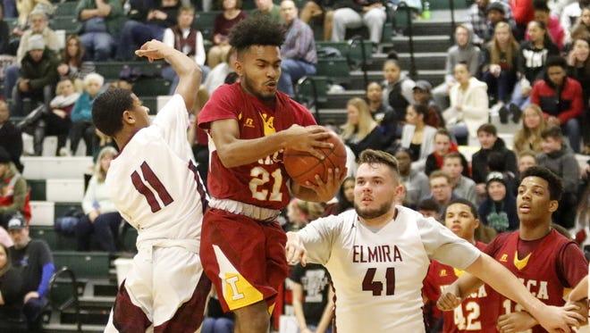 Elmira was a 54-37 winner over Ithaca in boys basketball Feb. 6 at Elmira High School.