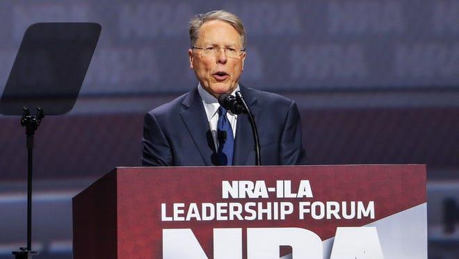 NRA leader Wayne LaPierre