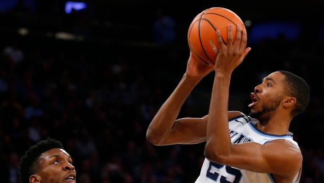 Villanova small forward Mikal Bridges is a potential Knicks Draft prospect to watch in the NCAA Tournament.