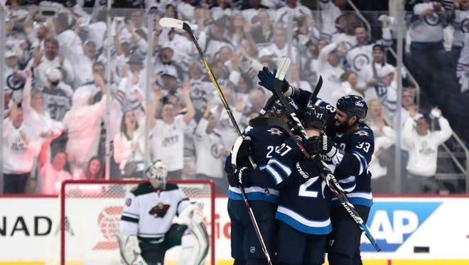 Winnipeg Jets Beat Minnesota Wild For Franchise S First Playoff Win