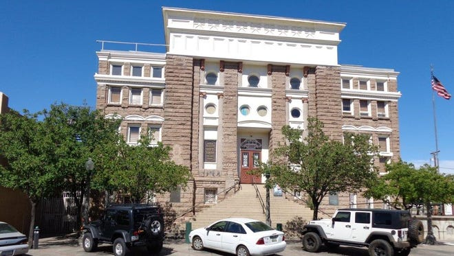 The old Gila Country Courthouse originally cost $33,950 to build in 1906-07, exhausting one contractor and requiring a second one to complete the project.
