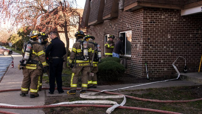 Quick response and work by the FD resulted in no extension to adjoining apartments.