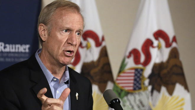 A surrogate of Illinois gubernatorial candidate Bruce Rauner says his church was the victim of a politically-motivated robbery over the weekend.
