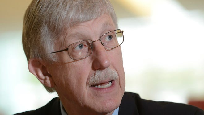Francis Collins, director of the National Institutes of Health, speaking to the USA TODAY Editorial Board.