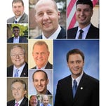 The 11 lawmakers who represent the Greater Lansing region.