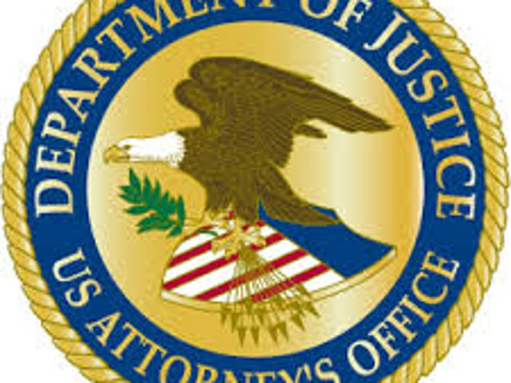 The logo for the U.S. Attorney's Office under the Department