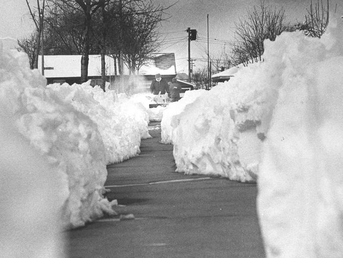 Photos The 1973 Blizzard That Shut Down Milwaukee In April