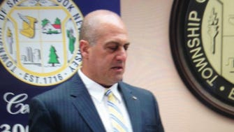 Joseph Camilleri resigned from the Saddle Brook Township Council after his son became a candidate for a Police Department job.