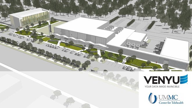 Venyu's $35 million data center was to have have included UMMC's Center for Telehealth.