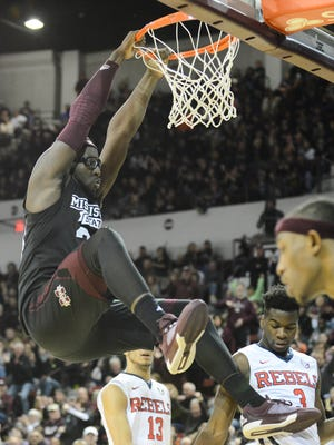 Mississippi State's leading scorer, Gavin Ware, remains questionable for MSU's game against Alabama on Tuesday.