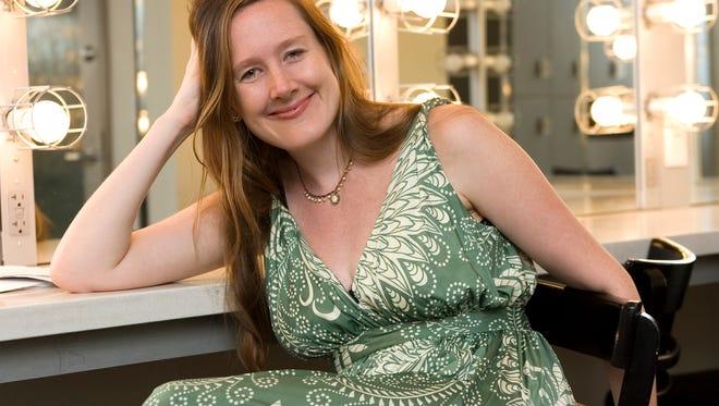 Playwright Sarah Ruhl.