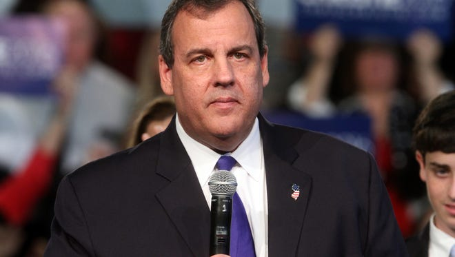 Governor Chris Christie formally announces his presidential candidacy at his alma mater, Livingston High School, Tuesday, June 30, 2015, in Livingston, NJ.