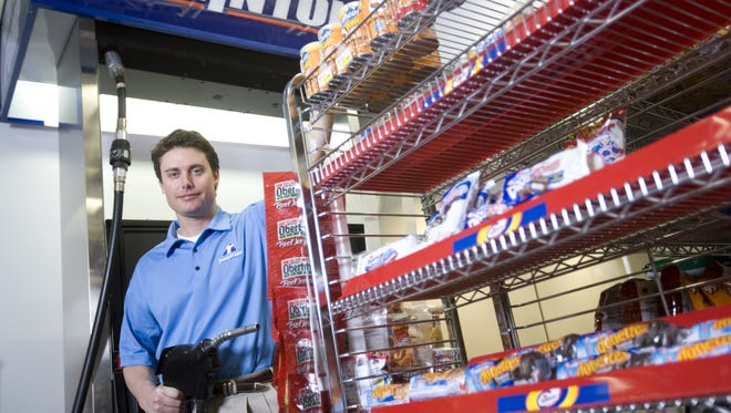 Matt Thornton, chief executive of Thorntons, has become the main spokesman for the business. He took over as CEO in his early 30s in fall 2001. His father, James H. Thornton, founded the company in the early 1970s, but the venture took root two decades earlier when the elder Thornton ran a gas station in New Albany. The business has now grown to more than 190 stores in five states.