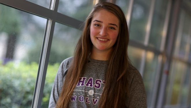 Shasta High junior Sophie Wood is the 2016 Record Searchlight Most Valuable Player for volleyball. She led the area in kills and team-highs in assists, aces and blocks while leading the Wolves to a Northern Section Division III championship.