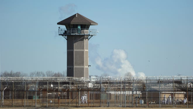 James T. Vaughn Correctional Center near Smyrna, where inmates stormed a building and killed a correctional officer in February.