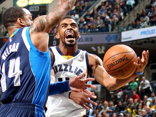 December 9, 2014 - Memphis Grizzlies Mike Conley is