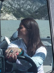 At Sun Canyon Lodge, Niki frequently ferries backcountry