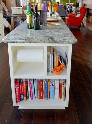 When buying pieces for your home, look for ones with extra storage.