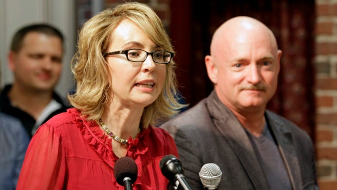 Former congresswoman Gabby Giffords is using her newly renamed political action committee to donate directly to candidates who support gun control. She and her husband, retired astronaut Mark Kelly, have become visible advocates for gun control.