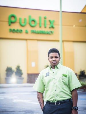 Javon Walker, customer service staff, Whitemarsh Publix