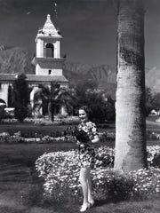 Olivia de Havilland at the El Mirador, circa 1935.