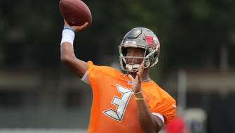 Quarterback Jameis Winston threw for 3,504 yards and 19 touchdowns last season led the Buccaneers to a 5-11 record.