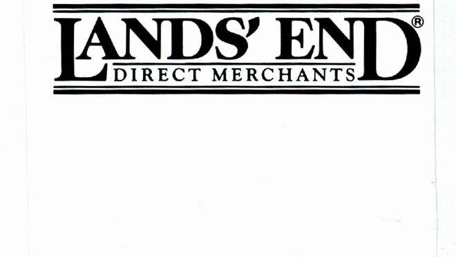 date taken na  LANDS  END logo. ORG XMIT: UT10640