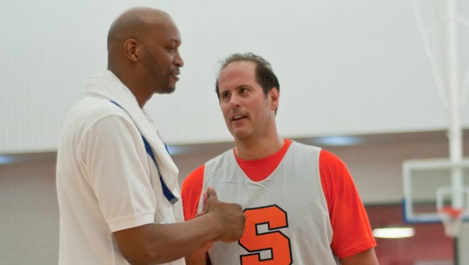Former Syracuse basketball star and Greece Athena grad John Wallace will play with and against campers in the SU Basketball Fantasy Camp.